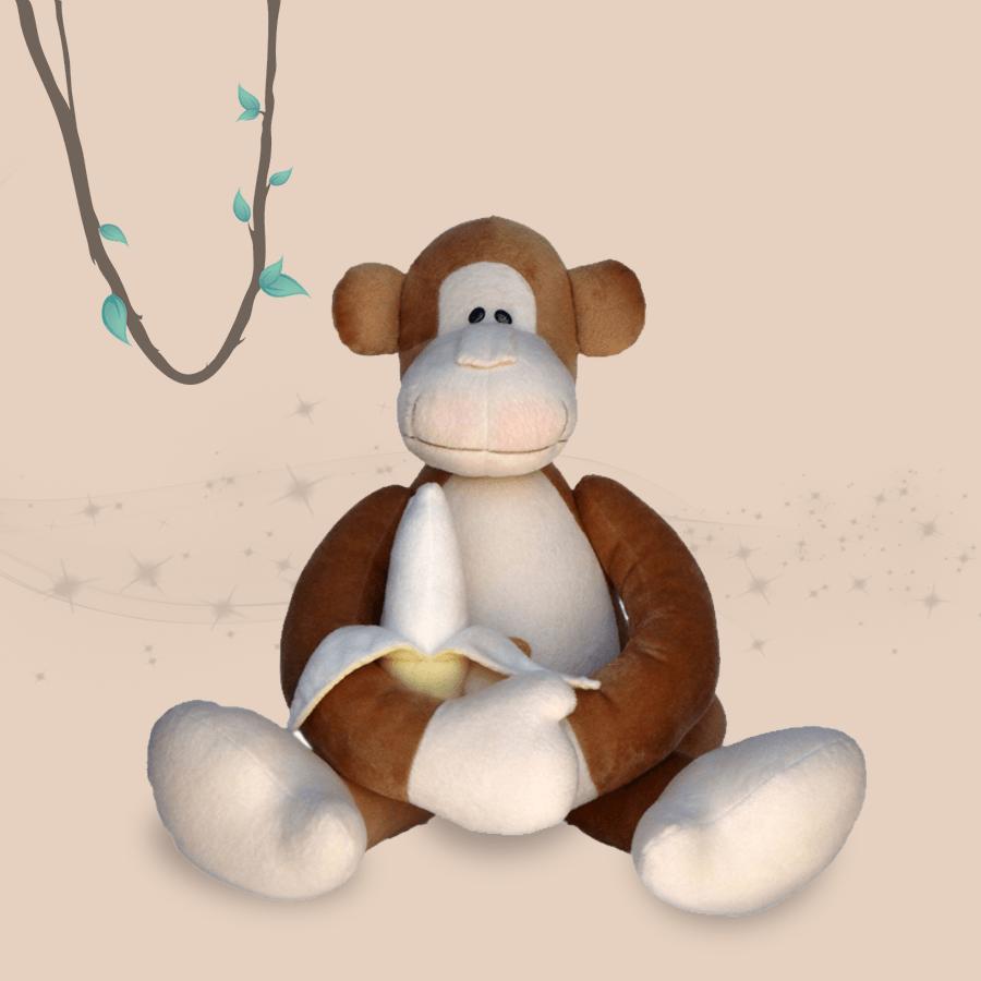 Gorila Coleção Safári Silvia Polito